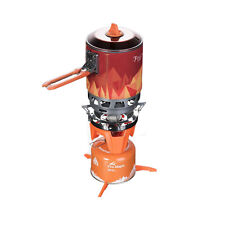 Camping Cooking System Heat Exchanger Pot Outdoor Stove Cookware Stove Set