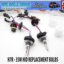 H7R Kit ampoules xénon HID remplacement Anti Éblouissement Réflecteur 6000K 35W