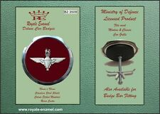 Royale Classic Car Grill Badge + Fittings - THE PARACHUTE REGIMENT - B2.3031