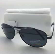 bf6ba4622c0 POLAROID Sunglasses PLD 1004 S 003 C3 61-15 Black Aviator Grey Polarized  Lenses