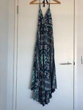 spell and the gypsy Pandora Kercheif Halter Dress- Night Garden XS