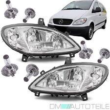 Mercedes Vito Viano W639 Klarglas Scheinwerfer Set H7/H7/H7 +Nebel 03-10 +BIRNEN