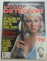 Official Detective Magazine The Skulking Sex Monster February 1988 062015R