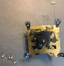 VINTAGE ZAANSE UNTESTED WALL CLOCK MOVEMENT W/ SCREWS FOR PARTS OR RESTORATION