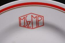 RRR NOS! Hungarian Socialist Workers Party MSZMP Porcelain Plate Kadar Szolnay