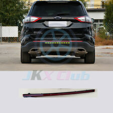 For Ford Edge 2015-2018 Rear Bumper Middle Reflector Lens Fog Light Replacement_