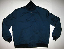 Vintage Blue Mcregors Red Fleece Lined Jacket Size 40 Made in USA Metal Zipper