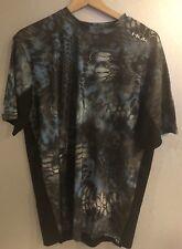 Huk Performance Kryptek Neptune Lo Pro Fishing Shirt Short Sleeve M MSRP $39.99