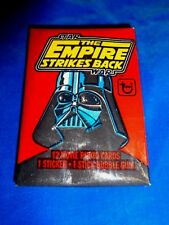 1980 Topps Star Wars Empire Strikes Back Series 1 Wax Pack