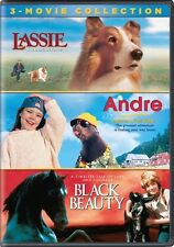Lassie / Andre / Black Beauty 3-Movie Collection (DVD,2017)