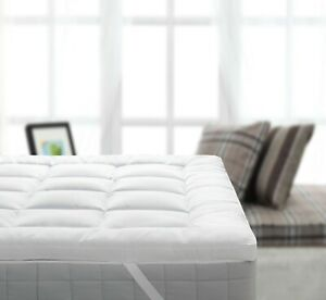 Royal 2 Inch Bamboo Filled Cotton Mattress Topper