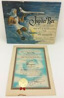 1958 Pam American Grace World Airways Jupiter Rex Equator Crossing Certificates