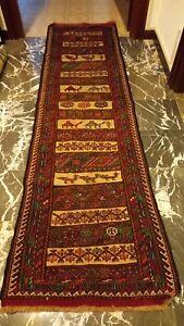 Kilim Sumak 200 x 55 tappeto passatoia corsia