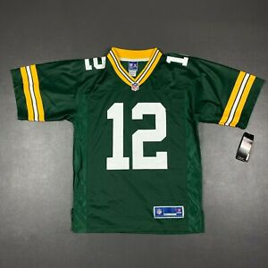 100% Authentic Aaron Rodgers NFL Pro Line Packers Jersey Size S 36 Mens