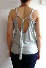 URBAN OUTFITTERS Lux Mint Pastel Green Camisole Cami Vest Top S M 8 38 NEW £55