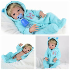 Full Soft Vinyl Silicone Body Reborn Dolls Toy Realistic Newborn Boy Doll Gifts