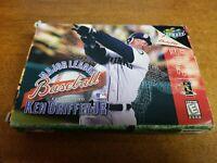 Major League Baseball Featuring Ken Griffey Jr. (Nintendo 64, 1998)(Tested)