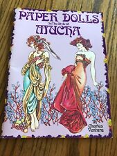 Paper Dolls in the Style of Mucha by Ventura