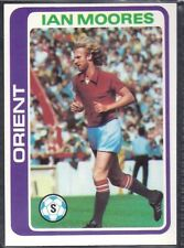 TOPPS-FOOTBALL (PALE BLUE BACK 1979)-#159- ORIENT - IAN MOORES