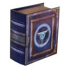 Arbiter Grimoire Pro Tour Deck Box Spellbook Wooden Fabric Lined Magic YuGiOh