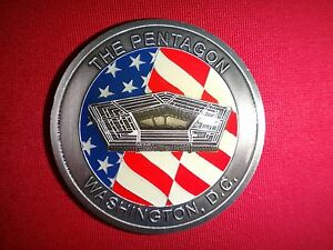US Department Of THE Army THE PENTAGON WASHINGTON D.C. 2-Side Challenge Coin