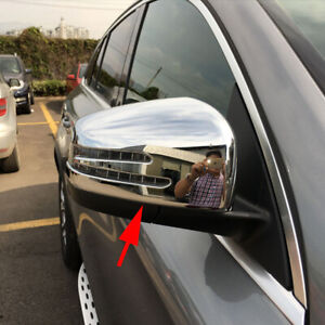 For Mercedes-Benz M-Class/GLE/GL/GLS Chrome Side Rear View Mirror Cover Overlay