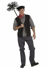 Chimney Sweep Mens Adult Costume Standard Mary Poppins Victorian Character New