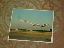 "Paramount G-PATA Mcdonnell Douglas MD-83 Large 10"" x 8"" photograph"