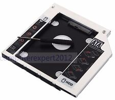 2nd SATA HDD SSD Hard Drive Caddy Adattatore Per Lenovo FLEX 2-15 swap uj8fb DVD