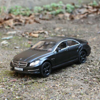 Model Cars 1:36 Mercedes-Benz CLS63 Gifts AMG Toys Matte black New Alloy Diecast