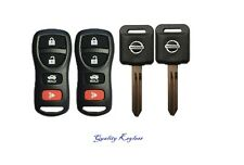2 4b Replacement Keyless Entry Remotes Fob Clicker + 2 Transponder 46 Chip Keys