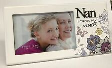"Mothers Day ""Nan"" Picture Photo Frame Gift Idea for Nana Premium Handmade"