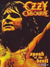 Ozzy Osbourne-Speak of the Devil DVD NUOVO