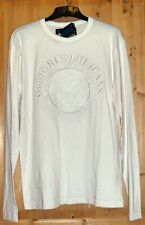 Tee-shirt manches longues blanc Rivaldi t xl neuf