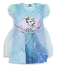 Disney Girls Fancy Dress up Costume Party Outfit Frozen Princess Childrens Kids Elsa 5-6 Years