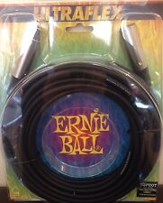 Ernie Ball 30ft Microphone Lead / Cable Female To Male XLR 3 Pin - Ultraflex New