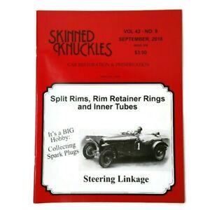 Skinned Knuckles Magazine Issue # 506 Sept. 2018 Split Rims -  Inner Tubes