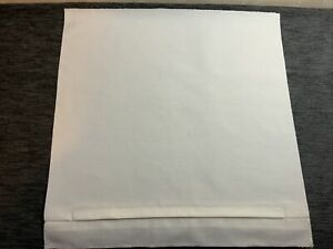 """16 X 16"""" Cushion Back Panel With Lapped Zip Perfect For Craft Cross Stitch cream"""