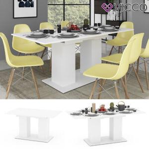 Vicco Tavolo da pranzo DIX 90 x 140cm - 180 cm Tavolo per sala da pranzo