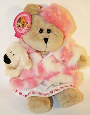 Starbucks Bearista Bear Plush 46th Edition Girl w/ Poodle 2006 TAGS, Perfect