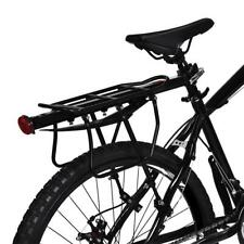 Bike Bicycle Luggage Seat Quick Release Post Pannier Carrier Rear Rack + Fender
