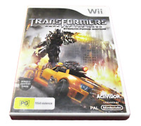 Transformers Dark Of The Moon Nintendo Wii PAL *Complete* Wii U Compatible