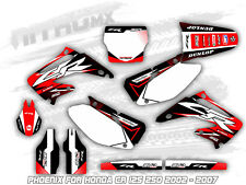 NitroMX Graphics Kit for Honda CR 125 250 2002 2003 2004 2005 2006 2007 Decal MX