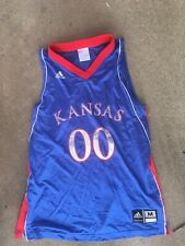 Adidas Kansas Jayhawks Basketball Jersey Size Mens Medium Red Blue Football Tank