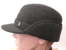 Gorro Hombre Orejeras de Invierno Gr.59 Visera Sombrero para