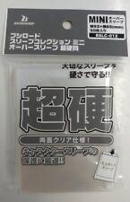 Mini Card Oversleeve Clear ULTRA HARD Pack Bushiroad Over Sleeve BSLC-012