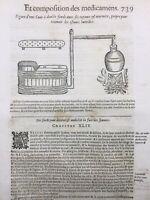 Médicaments 1614 Pharmacie Parfum Coiffure Bains Dentifrice Fard Ambroise Paré