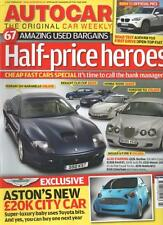 Autocar Magazine 1 July 2009 Half-price heroes. CHEAP FAST CARS SPECIAL.  LS
