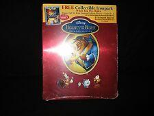 Disney Beauty And The Beast Diamond Edition Blu-ray Steelbook Ironpack Case