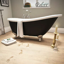 Black Double Ended Baths